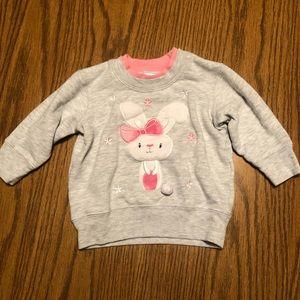 Other - Baby Girl Bunny Sweatshirt